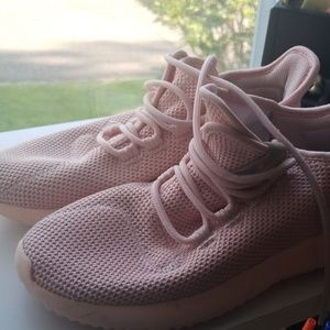 Adidas pink breathable sneakers size 6 woman